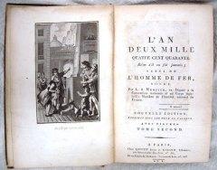 L'An 2440, Louis-Sébastien Mercier, 1771